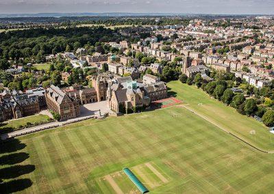 Clifton Summer School Aerial View