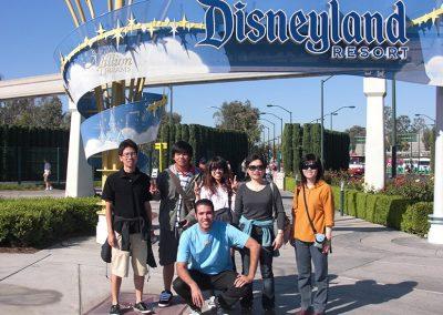 San Diego Campus Disneyland Trip