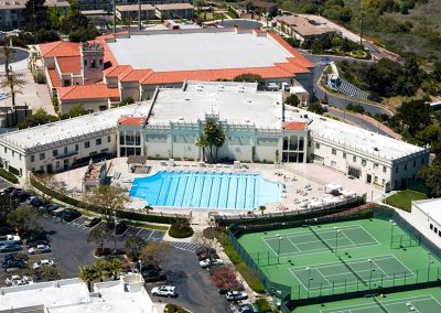 San Diego Summer School Campus Sports Aerial View
