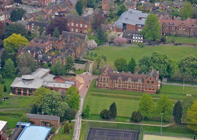 Bromsgrove School Aerial View