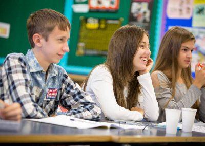Bromsgrove School Class Teens