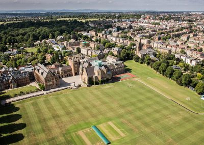 Clifton College Aerial View