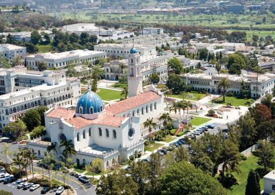 University of San Diego Summer Campus Aerial View