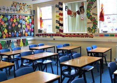 Classroom display Bloxham School
