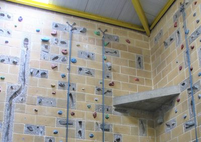 Climbing wall Bloxham School