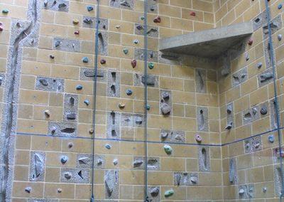 Bloxham school climbing wall