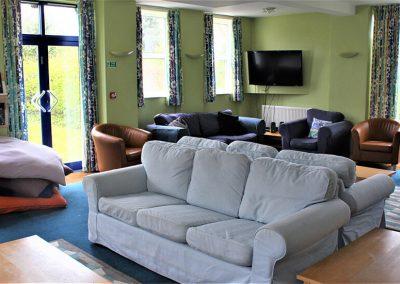 Bloxham school comfortable common room