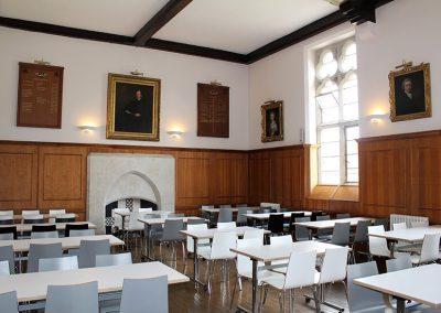 Bloxham school dining hall