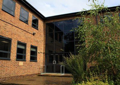 Bloxham school doors
