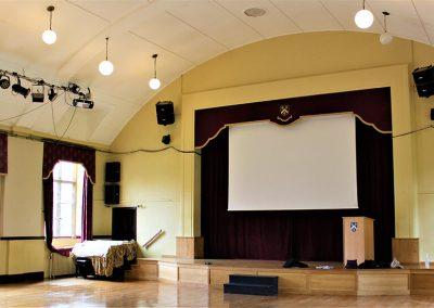 Bloxham school hall