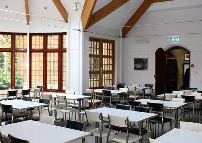 Bloxham school seating in food hall